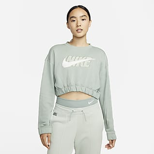 Nike Sportswear Icon Clash Oversized 女子起绒圆领上衣