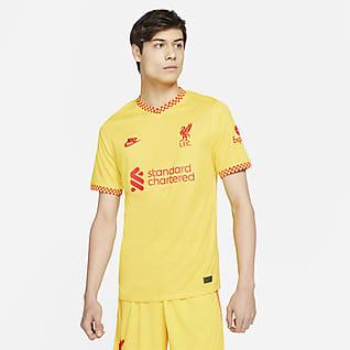 Liverpool FC 2021/22 Stadium (wersja trzecia) Męska koszulka piłkarska Nike Dri-FIT