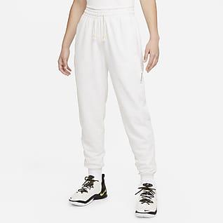 Nike Dri-FIT Swoosh Fly Standard Issue Basketbyxor för kvinnor