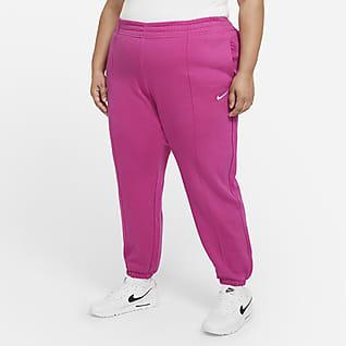 Nike Sportswear Trend Γυναικείο φλις παντελόνι (μεγάλα μεγέθη)