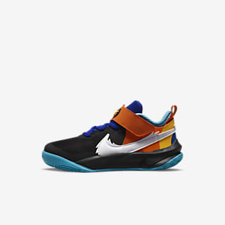 Nike Team Hustle D 10 SE x Space Jam: A New Legacy Calzado para niños talla pequeña