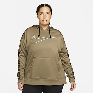 Nike Therma Women's Pullover Hoodie (Plus Size)