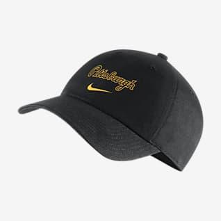 Nike Heritage86 Swoosh (MLB Pittsburgh Pirates) Adjustable Hat