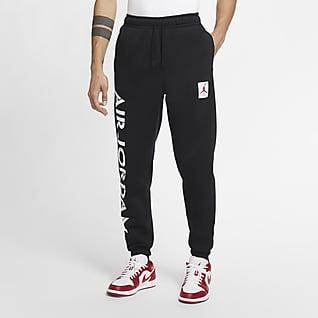 Jordan AJ4 Dzianinowe spodnie z nadrukiem
