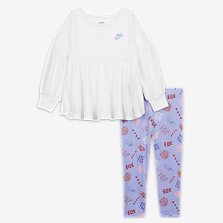 Nike Sæt med overdel og leggings til babyer (12-24 M)