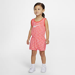 Nike Baby (12-24M) Striped Romper
