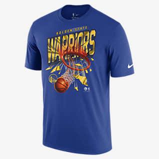 Golden State Warriors Courtside เสื้อยืด Nike NBA ผู้ชาย