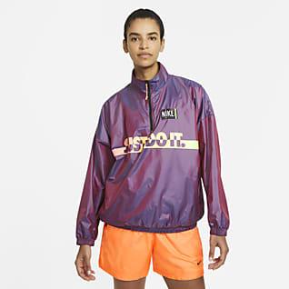 Nike Sportswear Dámská tkaná bunda přes hlavu