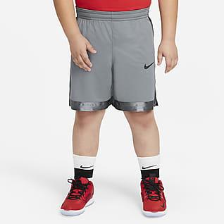 Nike Dri-FIT Elite Shorts de básquetbol para niños talla grande (talla extendida)