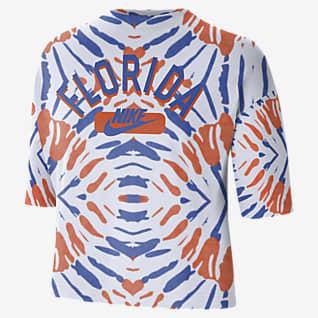 Nike College (Florida) Women's Boxy Printed T-Shirt