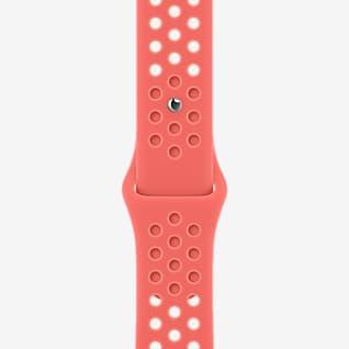 41 毫米橙粉/淡粉色 Nike 运动表带 - 标准号