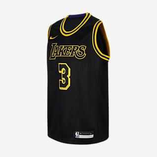 洛杉矶湖人队 (Anthony Davis) Nike NBA Swingman Jersey 大童(男孩)球衣