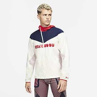 Nike x Gyakusou เสื้อแจ็คเก็ต 3 เลเยอร์ผู้ชาย