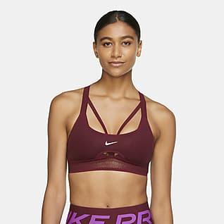 Nike Indy UltraBreathe Bra deportivo con almohadillas de sujeción ligera para mujer