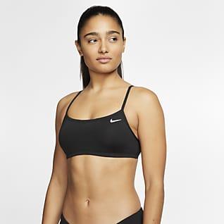 Nike Essential Top bikini con taglio all'americana