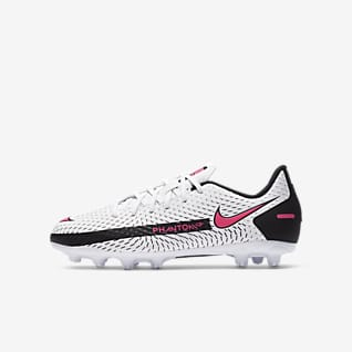 Nike Jr. Phantom GT Academy HG Little/Big Kids' Hard-Ground Soccer Cleat
