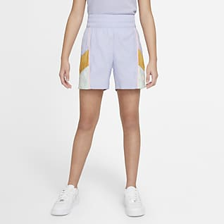 Nike Sportswear Heritage Dokuma Genç Çocuk (Kız) Şortu