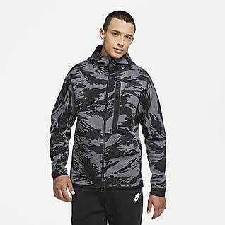 Nike Sportswear Tech Fleece Sudadera con capucha de camuflaje con cierre completo para hombre