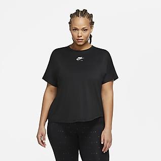 Nike Air Haut de running à manches courtes pour Femme (grande taille)