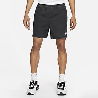 Nike Sportswear Heritage Essentials Swobodne spodenki z tkaniny