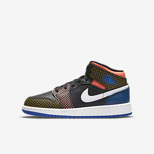 Air Jordan 1 Mid MMD Schuh für ältere Kinder