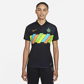 Terceiro equipamento Stadium Inter de Milão 2021/22 Camisola de futebol Nike Dri-FIT para mulher