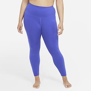 Nike Yoga Women's High-Waisted 7/8 Leggings (Plus Size)