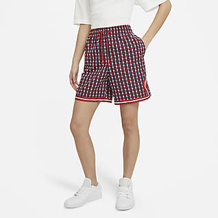 Paris Saint-Germain Shorts de tejido Woven para mujer