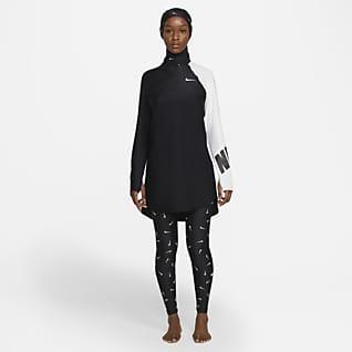 Nike Victory Slimmade badleggings för kvinnor