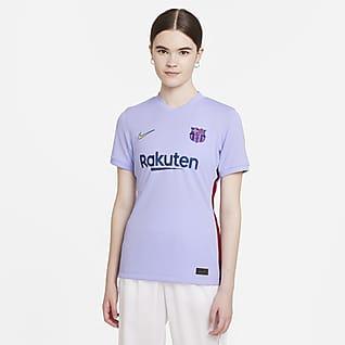 FC Barcelona visitante 2021/22 Stadium Camiseta de fútbol Nike Dri-FIT para mujer