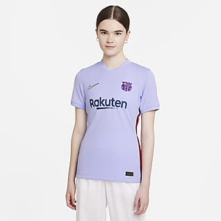 F.C. Barcelona 2021/22 Stadium Away Women's Nike Dri-FIT Football Shirt