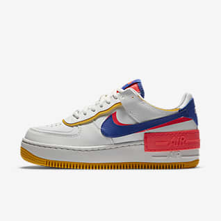 nike air force 1 nere e gialle