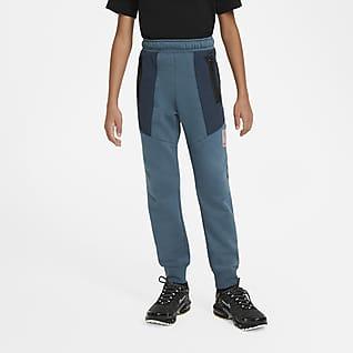 Nike Sportswear Air Max Fleecebukser til store børn (drenge)