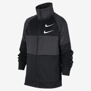 Nike Sportswear Swoosh Куртка для мальчиков школьного возраста