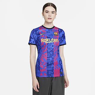 Tercera equipación Stadium FC Barcelona 2021/22 Camiseta de fútbol Nike Dri-FIT - Mujer