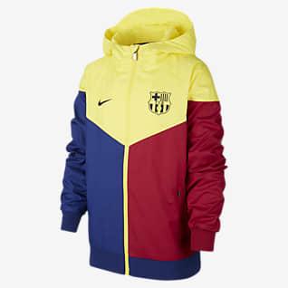 FC Barcelona Windrunner Older Kids' Jacket