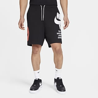 Nike Sportswear Herrenshorts aus French Terry