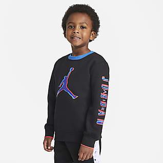 Jordan Kerek nyakkivágású pulóver kisebb gyerekeknek