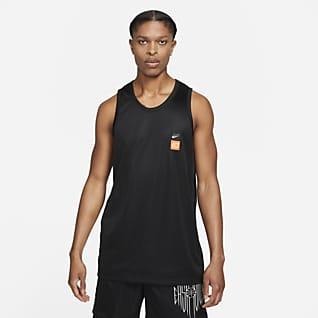 KD Camiseta de básquetbol sin mangas para hombre