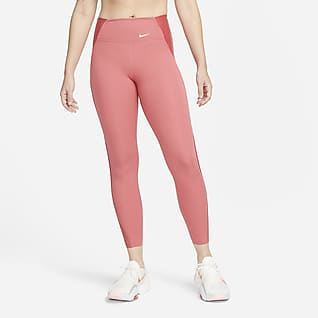 Nike Dri-FIT One Luxe Icon Clash Women's Mid-Rise 7/8 Printed Leggings