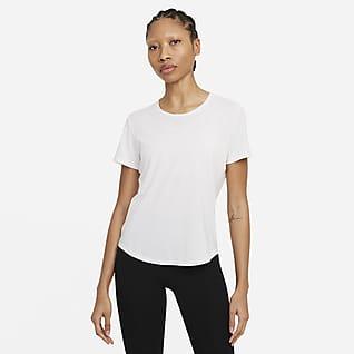 Nike Dri-FIT One Luxe Women's Standard Fit Short-Sleeve Top