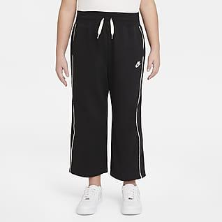 Nike Sportswear Pantalones de French Terry para niña talla grande (talla extendida)