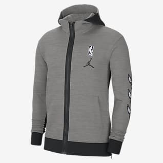 Hornets Showtime Men's Jordan Therma Flex NBA Hoodie
