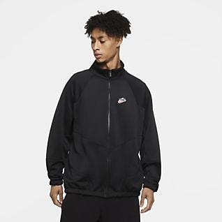 Nike Sportswear Heritage Windrunner Jacka i polyestermaterial för män