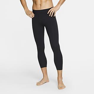 Nike Yoga Dri-FIT 3/4 Infinalon Erkek Taytı