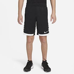 Nike Trophy กางเกงเทรนนิ่งขาสั้นเด็กโตพิมพ์ลาย (ชาย)