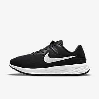 Nike Revolution 6 FlyEase Next Nature Herren-Straßenlaufschuh für einfaches An- und Ausziehen (Extraweit)