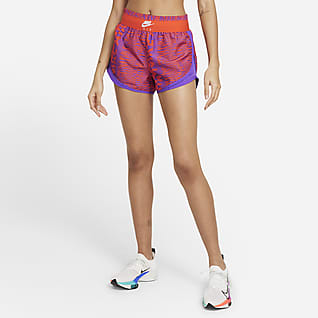 Nike Air Tempo Dámské běžecké kraťasy s potiskem