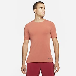 Nike Dri-FIT Men's Short-Sleeve Yoga Training Top
