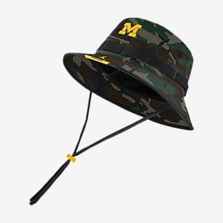 Jordan Dri-FIT College (Michigan) Camo Bucket Hat